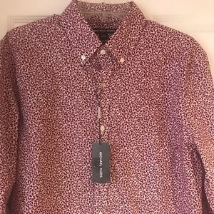 Michael Kors Men's Print Shirt